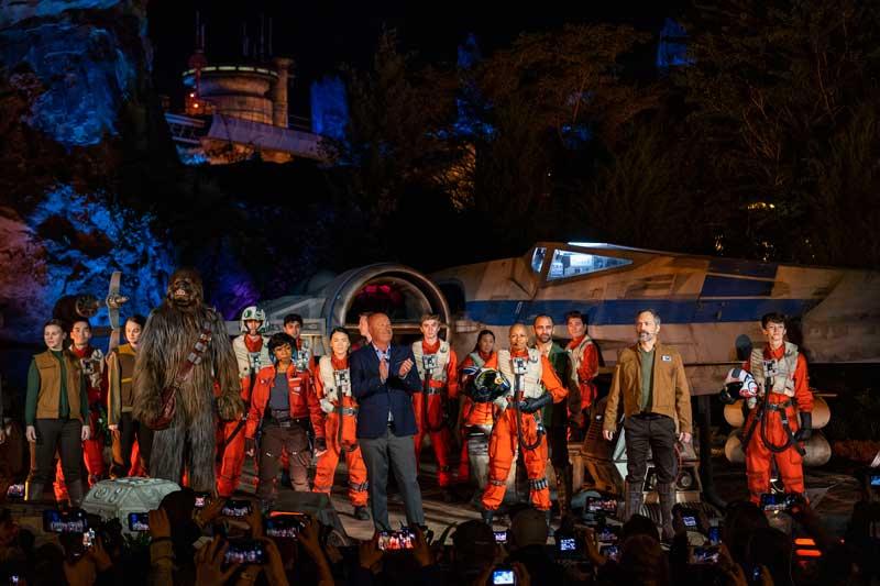 Inauguración parque Star Wars Disney