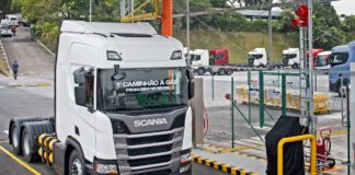 Scania a Gas