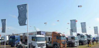 Mercedes Benz Expoagro-Camiones-stand